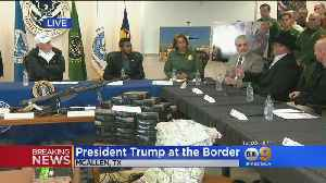 Trump Visits Border Town, Holds Roundtable As Shutdown Continues [Video]