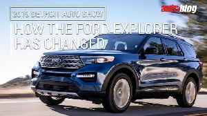 How the Ford Explorer SUV has changed over the years [Video]