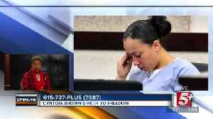 Cyntoia Brown's Path to Freedom p1 [Video]