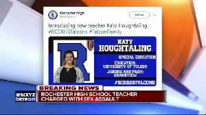 Rochester high teacher charged with sexual assault; allegedly had sexual relationship with students [Video]