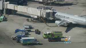 American Air Crew Members Hospitalized After Flight Lands In Fort Lauderdale [Video]