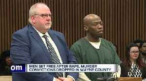 Men set free after rape, murder convictions dropped in Wayne County [Video]