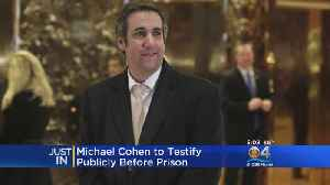 Trump's Former Attorney Michael Cohen To Testify Before Congress [Video]