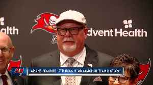 Buccaneers introduce Bruce Arians as new head coach [Video]