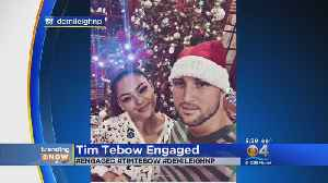 Tim Tebow Gets Engaged [Video]