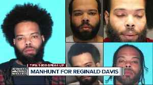 Detroit's Most Wanted: Reginald Davis wanted for allegedly shooting at his own child, family [Video]