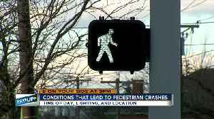 How can data help prevent more pedestrian crashes? [Video]
