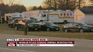 Franklin Police working criminal investigation in Walworth County [Video]