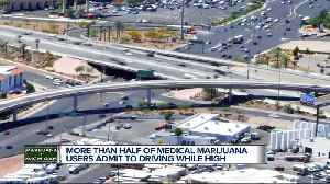Study: More than half of Michigan medical marijuana users admit to driving while high [Video]