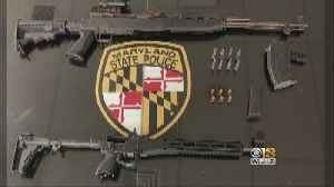 Two Rifles, One Loaded, Seized During Traffic Stop In Salisbury [Video]
