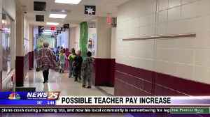 Possible teacher pay increase [Video]