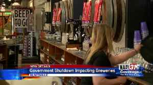 Government shutdown impacting breweries [Video]