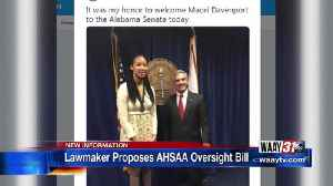 Lawmaker proposes AHSAA oversight bill [Video]