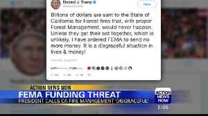 President Trump Tweets FEMA to Stop Services [Video]