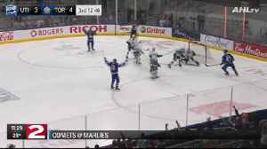 Comets fall to Marlies 6-3 [Video]