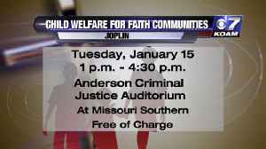 Child Welfare for Faith Communities Interview [Video]