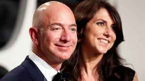 News video: Amazon CEO Jeff Bezos and wife announce divorce