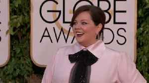 News video: Melissa McCarthy to be honoured by Make Up Artists and Hair Stylists Guild