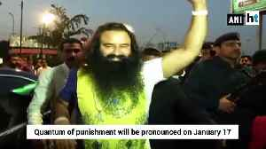 News video: Ram Rahim convicted in Journalist Ram Chander Chhatarpati murder case