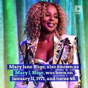 Happy Birthday, Mary J. Blige! [Video]