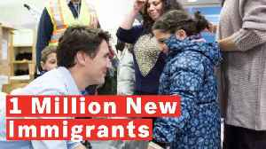 News video: Canada Plans To Admit Over 1 Million New Immigrants