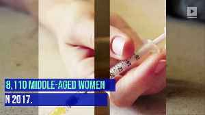 Drug Overdose Deaths of Middle-Aged Women Skyrocket [Video]