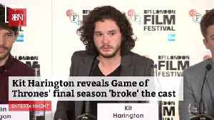 Final Season Of Game Of Thrones Was Emotionally Draining [Video]