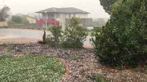 Canberra Hit by Afternoon Hailstorm [Video]