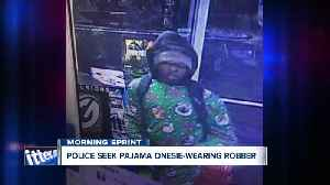 Can you recognize this pajama onesie-wearing robber in Cheektowaga? [Video]