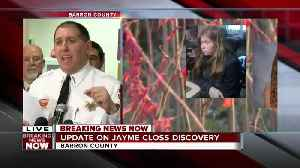 JAYME CLOSS: First full news conference following the discovery of the Barron, Wisconsin missing teen [Video]