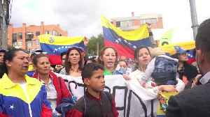 Venezuelans stage protest as President Maduro begins second term [Video]