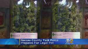 Nassau County Creates Task Force In Preparation For Legal Pot [Video]