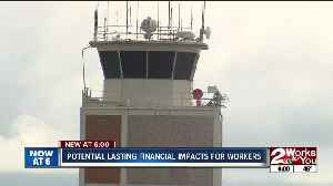 News video: Government shutdown affecting air traffic controllers in Tulsa