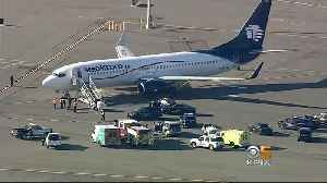 Aeromexico Flight Diverted, Delayed at Oakland Airport [Video]