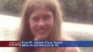 Jayme Closs Found Alive In Douglas County, Wisconsin [Video]