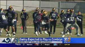 Gurley Expected To Play Vs Cowboys [Video]