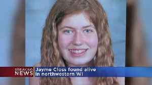 News video: Sheriff: Jayme Closs Found Alive In Wisconsin, Suspect In Custody