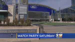 Cowboys Hosting Playoff Game Watch Party At The Star [Video]