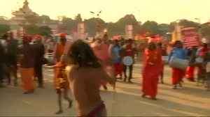 Indian town gears up for world's largest religious festival [Video]