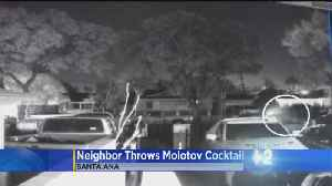 Neighbor Dispute In Santa Ana Turns Fiery After Man Allegedly Throws Molotov Cocktail [Video]
