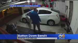 Search On For 'Button-Down Bandit' [Video]