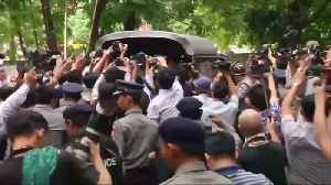 News video: Myanmar court rejects jailed reporters' appeal