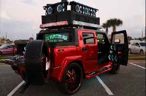 World's Loudest Hummer Boasts 86 Speakers | RIDICULOUS RIDES [Video]