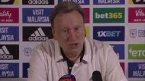 Warnock: I still want to sign a striker [Video]