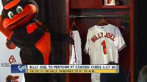 Billy Joel to perform first-ever concert at Camden Yards in July 2019 [Video]