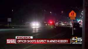 Avondale armed robbery leads to officer-involved shooting in Phoenix [Video]