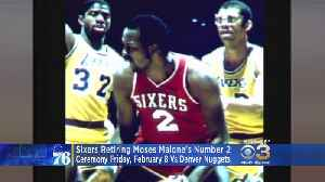 Ceremony To Be Held To Retire Moses Malone Number 2 Jersey [Video]