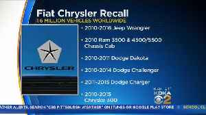 Fiat Chrysler Recalls Millions Of Vehicles Over Takata Air Bags [Video]