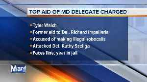 Former aid to Maryland Delegate charged with violating elections laws [Video]
