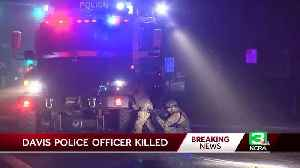 News video: 22-Year-Old Police Officer Shot And Killed In Davis